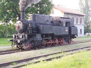 Lokomotiva 423.094 (Velký Bejček). Foto: KHKD