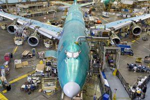 Výroba Boeingu 747. Foto: Boeing