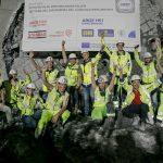 Oslava proražení další části tunelu pod Brennerem. Foto: BBT SE