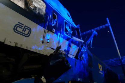 Nehoda u Českého Brodu. Foto: HZS