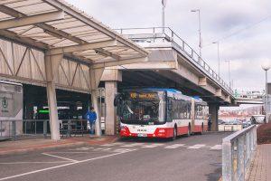 Autobus v Mladé Boleslavi. Foto: PID