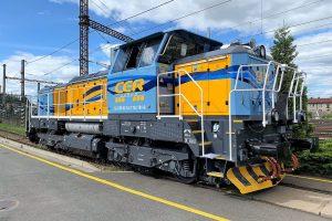EffiShunter 1000M v barvách CER Cargo. Foto: CZ LOKO
