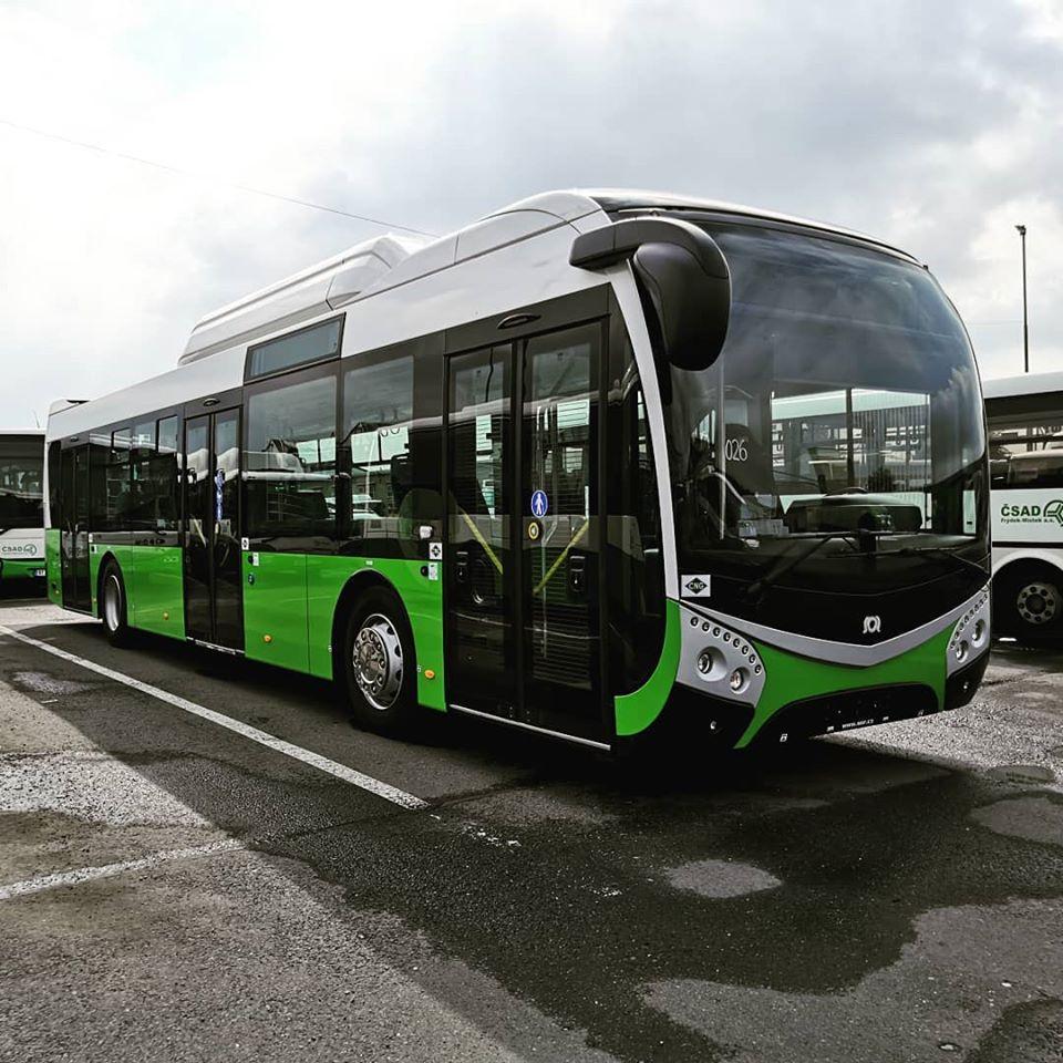Autobus SOR NSG12 v barvách ČSAD Frýdek-Místek. Foto: ČSAD Frýdek-Místek