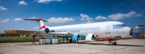 Fokker 100 po Austrian Arrows. Foto: Airliners.sk
