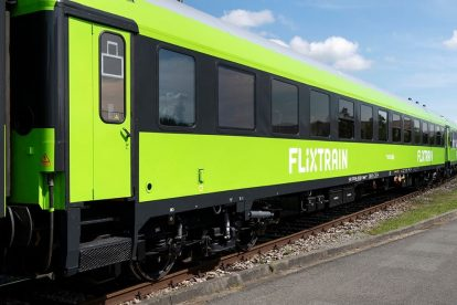 Vozy FlixTrain po modernizaci. Foto: Giulio Coscia / FlixMobility