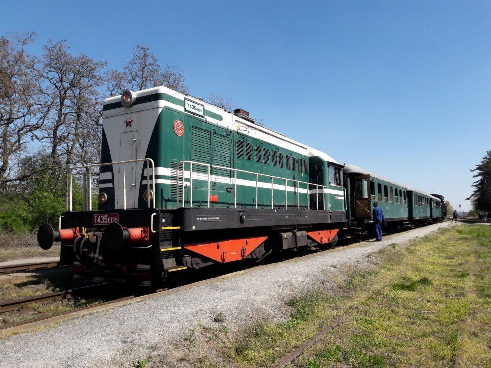 Dieselová lokomotiva T435.0139 Hektor. Pramen: České dráhy