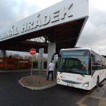 Autobus ČSAD Liberec v Hrádku nad Nisou. Foto: IDOL