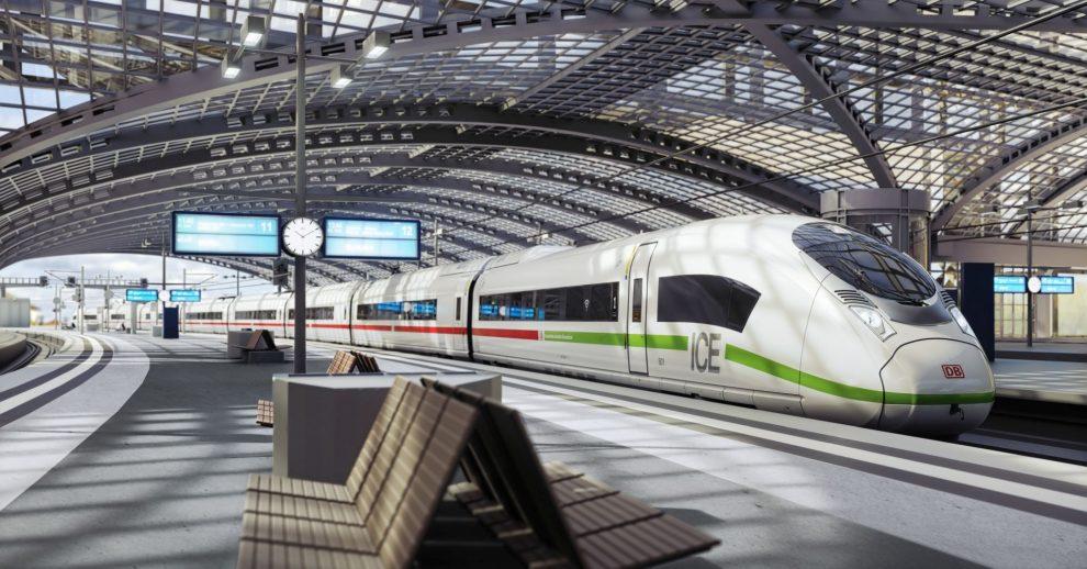 Vizualizace nových vysokorychlostních jednotek od Siemensu pro Deutsche Bahn. Foto: DB