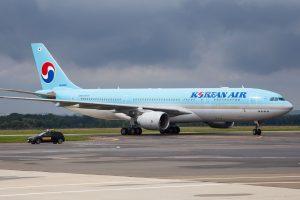 Airbus A330-200 Korean Air v Ostravě. Foto: Radim Koblížka