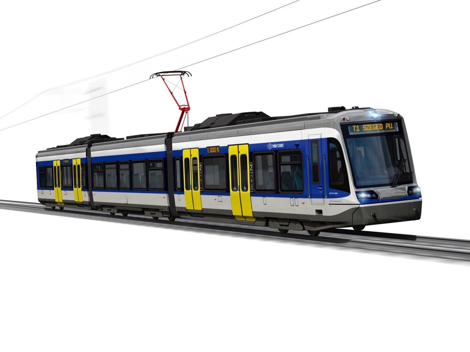Stadler Citylink pro provoz mezi městy Szeged a Hódmezővásárhely. Foto: Stadler Rail