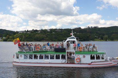 První plavba lodi Morava po 9 letech a rekonstrukci. Foto: Jakub Hruška