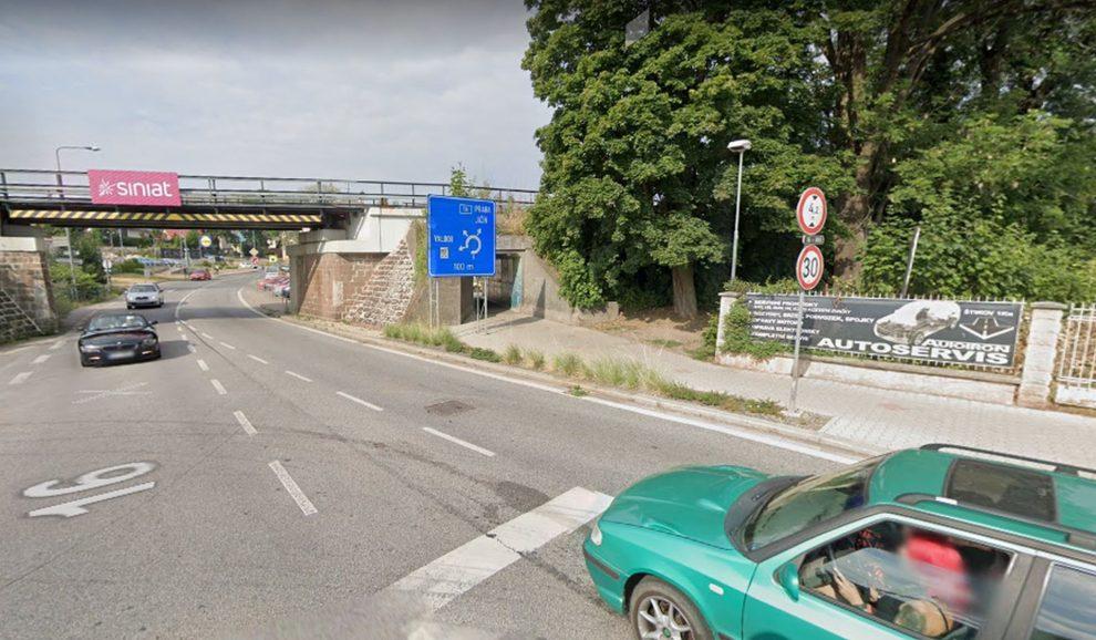 Silnice I/16 v Nové Pace. Foto: Google Street View