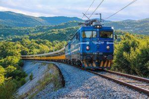 Vlak RegioJetu v Chorvatsku. Foto: Damir Miškulin