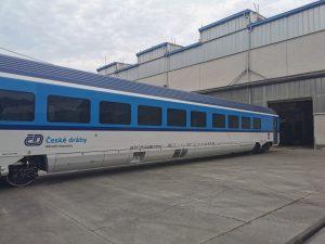 Přeprava nových vozů Siemens - Škoda ze závodu Škoda Vagonka. Foto: Škoda Transportation