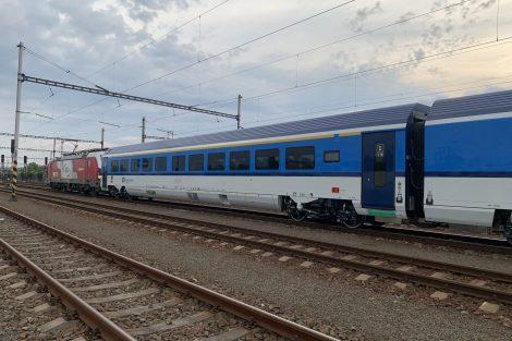 Přeprava nových vozů od konsorcia Siemens - Škoda pro České dráhy. Foto: Cargo Motion