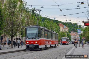 Tramvaj T6A5 v Brně. Foto: Roman Hloch / Tramvaje v České republice