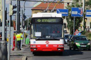 Trolejbus 24Tr V Praze. Foto: DPP