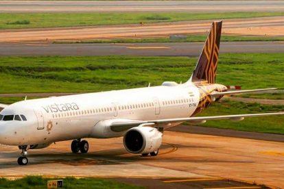 A321neo společnosti Vistara. Foto: Vistara