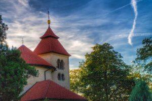 Rotunda sv. Petra a Pavla v Budči na katastrálním území Zákolan.. Foto: FB obce