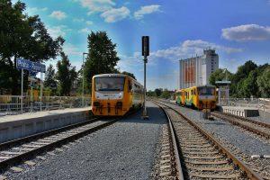 Křižování vlaků v Řeporyjích. Foto: PID