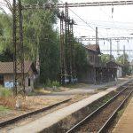 Železniční stanice Velký Osek. Foto: Dezidor / Wikimedia Commons