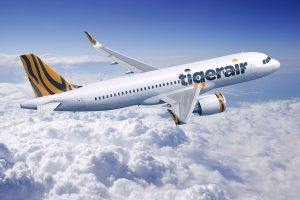 A320neo v barvách Tigerair. Foto: Airbus