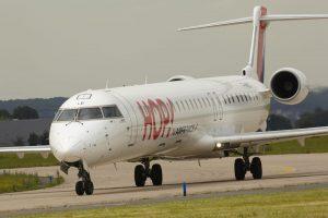 Canadair (Bombardier) Regional Jet 1000 v barvách HOP! Foto: Air France