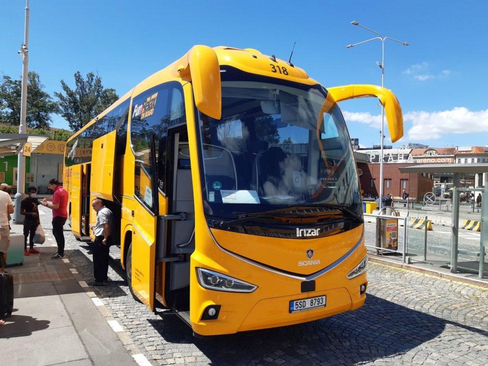 Nový autobus Irizar i8 pro Regiojet. Foto: RegioJet