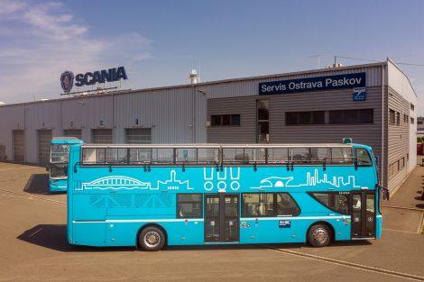 Nové dvoupodlažní autobusy pro Ostravu. Foto: DPO