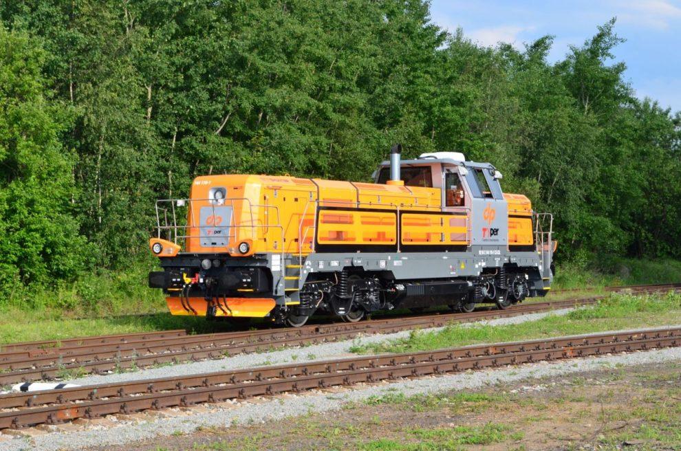 Lokomotiva EffiShunter 1000 dopravce TPER Dinazzano. Pramen: CZ LOKO