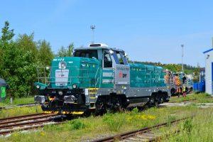 Lokomotiva EffiShunter 1000 dopravce TPER Trenitalia. Pramen: CZ LOKO