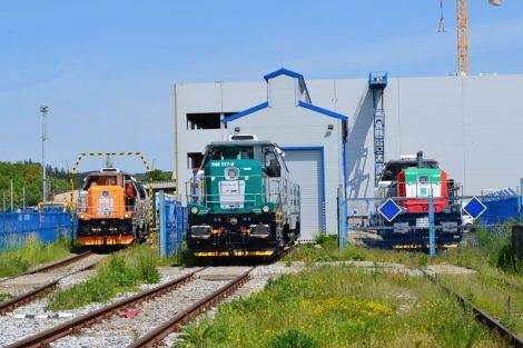 Barevné řešení lokomotivy EffiShunter 1000 pro EVM Rail. Pramen: CZ LOKO