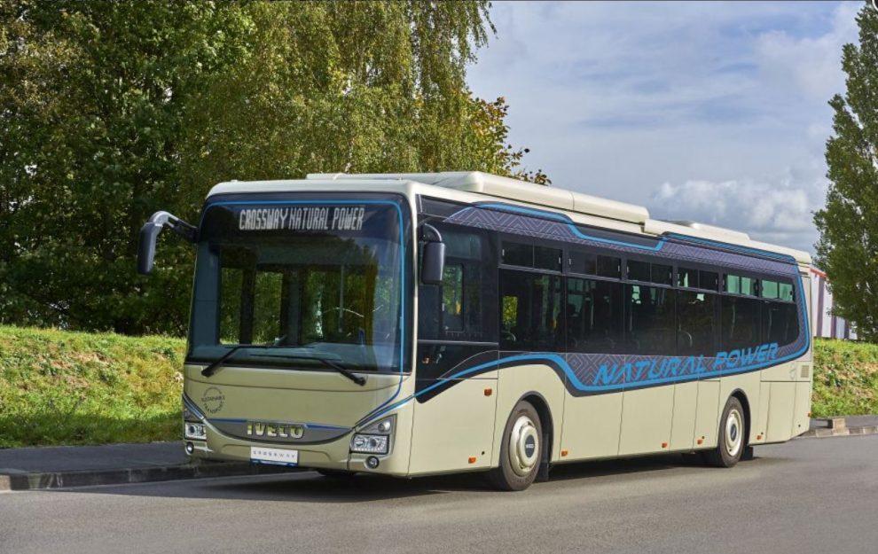 Autobus Iveco Crossway Low Entry na zemní plyn. Pramen: Iveco