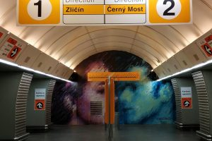 Stanice metra Karlovo náměstí. Pramen: ROPID