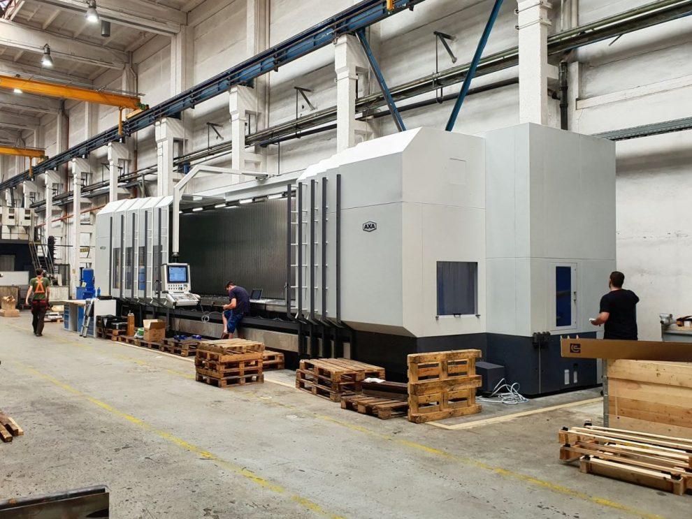 Nové obráběcí centrum Pražské strojírny. Pramen: Pražská strojírna