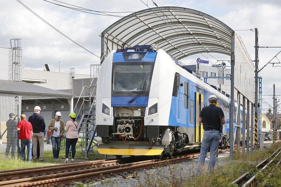 Nový RegioPanter pro České dráhy. Pramen: České dráhy