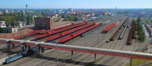 Uzel Pardubice po modernizaci, vizualizace. Pramen: Správa železnic