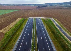 Rychlostní silnice S3 míří k české hranici. Pramen: GDDKIA