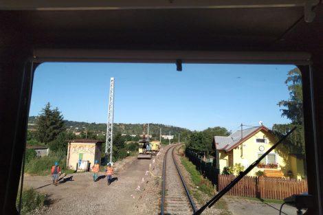 Trať Brno - Střelice prochází modernizací. Autor: Martin Grill