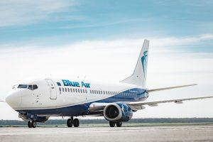 Boeing 737-300 v barvách Blue Air. Foto: Blue Air