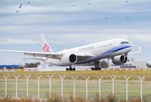 Airbus A350-900 společnosti China Airlines v Praze. Foto: Rosťa Kopecký / FlyrRosta.com