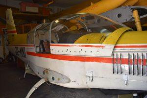 Letecké muzeum Dačice. Autor: Vlastimil Kučera