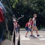 Děti na přechodu. Ilustrační foto: Kantonspolizei Basel-Stadt