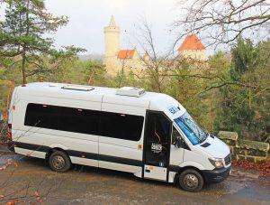 Doprava na Kokořínsku. Foto: Kokořínský SOK