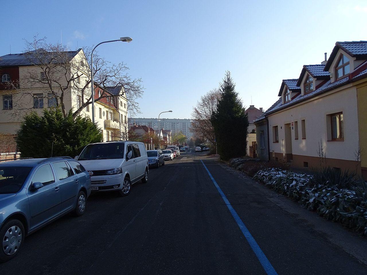 Modrá zóna v Praze, ilustrační foto. Autor: ŠJů, Wikimedia Commons, CC BY 4.0, https://commons.wikimedia.org/w/index.php?curid=53225647