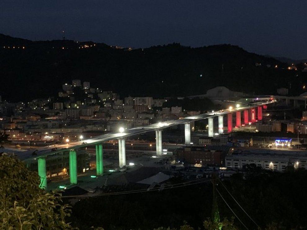 Nově otevřený most v Janově. Foto: Commune di Genoa