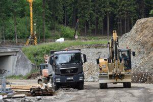 Rekonstrukce křižovatky Rádelský mlýn. Foto: Liberecký kraj