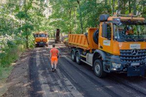 Oprava silnice. Foto: Silnice LK