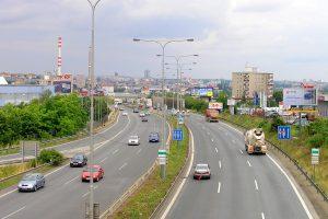 Jižní spojka u Spořilova. Autor: Czech Wikipedia user Packa – Vlastní dílo, CC BY-SA 3.0, https://commons.wikimedia.org/w/index.php?curid=4371788