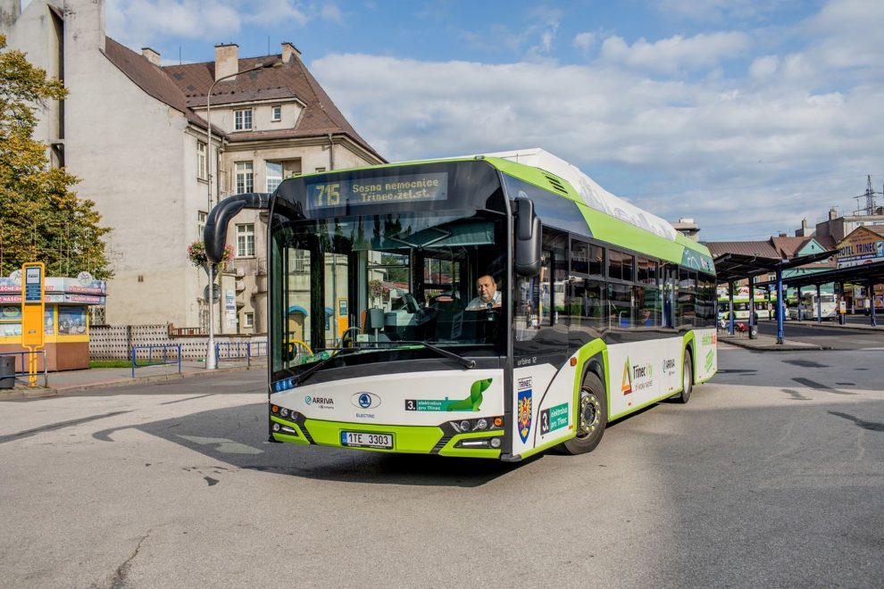 Elektrobus Škoda Perun v Třinci. Foto: 100projektu.eu